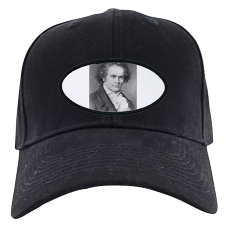 BEETHOVEN IMAGE T-SHIRT Black Cap
