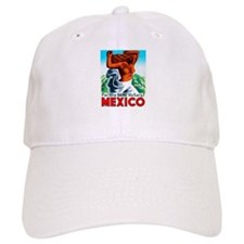 Mexico Travel Poster 4 Baseball Cap