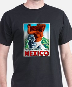 Mexico Travel Poster 4 T-Shirt