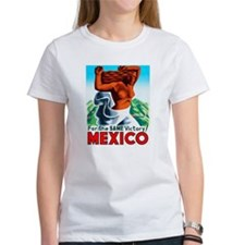 Mexico Travel Poster 4 Tee