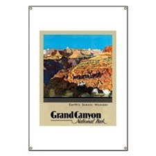 Grand Canyon Travel Poster 2 Banner