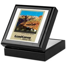 Grand Canyon Travel Poster 2 Keepsake Box