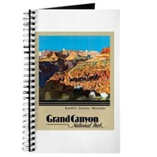 Grand Canyon Travel Poster 2 Journal