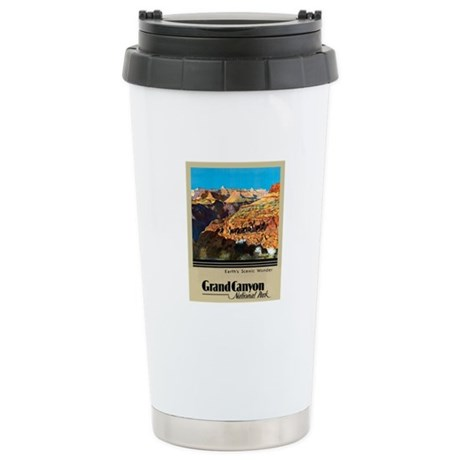 Grand Canyon Travel Poster 2 Stainless Steel Trave