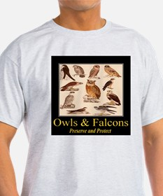 Owls & Falcons T-Shirt
