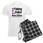 Stand Pancreatic Cancer Men's Light Pajamas