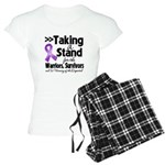 Stand Pancreatic Cancer Women's Light Pajamas