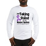 Stand Pancreatic Cancer Long Sleeve T-Shirt