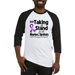 Stand Pancreatic Cancer Baseball Jersey