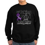 Stand Pancreatic Cancer Sweatshirt (dark)