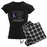 Stand Pancreatic Cancer Women's Dark Pajamas