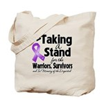 Stand Pancreatic Cancer Tote Bag