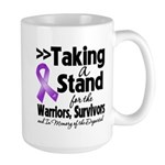 Stand Pancreatic Cancer Large Mug