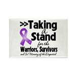Stand Pancreatic Cancer Rectangle Magnet