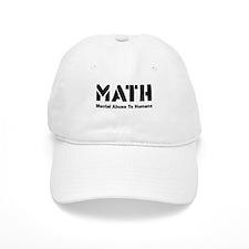 Math Mental Abuse To Humans Baseball Cap