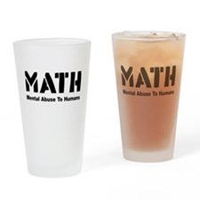 Math Mental Abuse To Humans Drinking Glass
