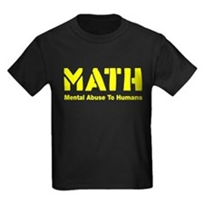 MATH mental abuse to humans T