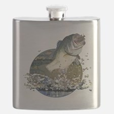 Largemouth Bass Flask