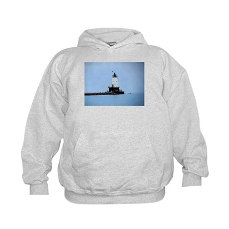 Ludington Lighthouse Kids Hoodie
