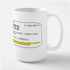 Coffee Prescription Ceramic Mugs