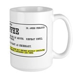 Coffee prescription Coffee Mugs