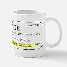 Coffee Prescription Small Mugs