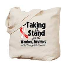Stand Oral Cancer Tote Bag