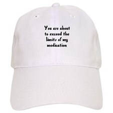 You are about to exceed the limits Baseball Cap