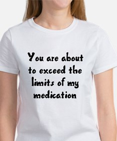 You are about to exceed the limits Tee