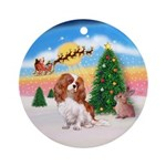 Take Off 1 - Cavalier (BL) Ornament (Round)