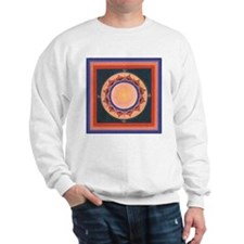 Blue and Purple Lotus Mandala Sweater