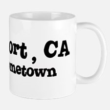 Bridgeport - hometown Small Small Mug