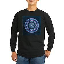 Blue and Purple Lotus Mandala T