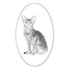 Black and White Aby Decal