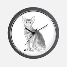 Black and White Aby Wall Clock