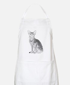 Black and White Aby Apron