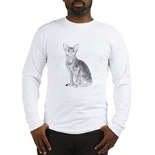 Black and White Aby Long Sleeve T-Shirt