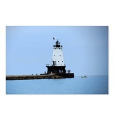 Ludington Lighthouse Postcards (Package of 8)