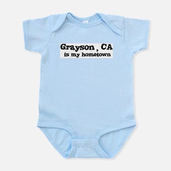 Grayson - hometown Infant Creeper