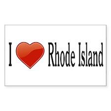 I Love Rhode Island Decal