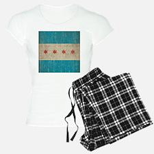 Vintage Chicago Flag Pajamas