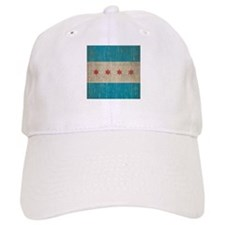 Vintage Chicago Flag Hat