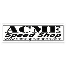 Acme Speed Shop Decal Bumper Bumper Sticker