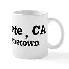Bret Harte - hometown Small Mug