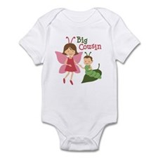 Big Cousin - Butterfly Infant Bodysuit
