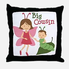 Big Cousin - Butterfly Throw Pillow