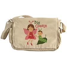 Big Cousin - Butterfly Messenger Bag