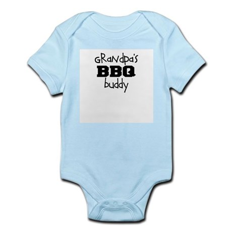Grandpas BBQ Buddy Infant Bodysuit