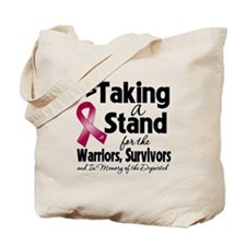 Stand Multiple Myeloma Tote Bag