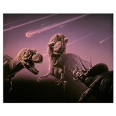 Death of dinosaurs Poster